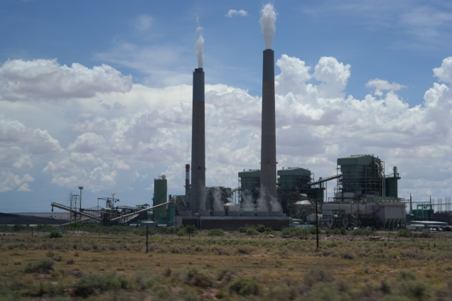 Cholla Power Plant, Arizona. Photo by Aaron J. Wolf