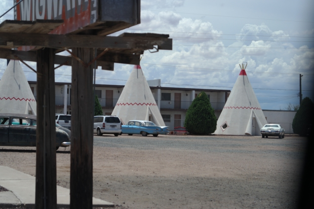 Is that Flo? Wigwam Hotel, Holbrook, AZ. Photo by Aaron J. Wolf